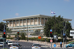 A view of the Knesset, the Israeli parliament. From a series of travel photos taken in Jerusalem and nearby areas. Photo date: Monday, July 30, 2018. Photo credit should read: Richard Gray/EMPICS