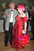 NORMAN ACKROYD; ZANDRA RHODES, Royal Academy of Arts Annual dinner. Piccadilly. London. 29 May 2012.