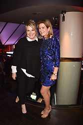 Fern Britton and Penny Smith at the Costa Book Awards 2017 held at  Quaglino's, 16 Bury Street, London England. 30 January 2018.