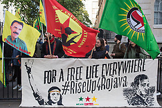 2019-10-09 Kurdish protest against Turkish invasion