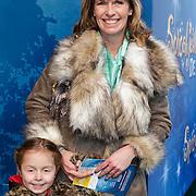 NLD/Amsterdam/20120219 - Premiere Sprookjesboom de Film, Anky van Grunsven en dochter Ava