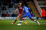 Peterborough United forward Ivan Toney (17) sweeps in the equalising goal during the EFL Sky Bet League 1 match between Peterborough United and Bradford City at The Abax Stadium, Peterborough, England on 17 November 2018.