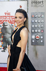 Leslie Grace at the Los Angeles premiere of 'The Suicide Squad' held at the Regency Village Theatre in Westwood, USA on August 2, 2021.