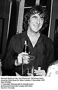 Howard Marks at the  'Get Plastered'  Christmas Party.<br />Groucho Club, Dean St. Soho, London. 5 December 1997<br />Film 97698f6<br />© Copyright Photograph by Dafydd Jones<br />66 Stockwell Park Rd. London SW9 0DA<br />Tel 0171 733 0108
