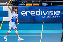 Thomas Douglas Powell of Lycurgus in action during the league match between Draisma Dynamo vs. Amysoft Lycurgus on March 13, 2021 in Apeldoorn.