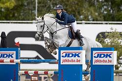 Leonard Lena, BEL, Gloria vh Kluizenbos<br /> Belgisch Kampioenschap Jeugd Azelhof - Lier 2020<br /> © Hippo Foto - Dirk Caremans<br /> 02/08/2020
