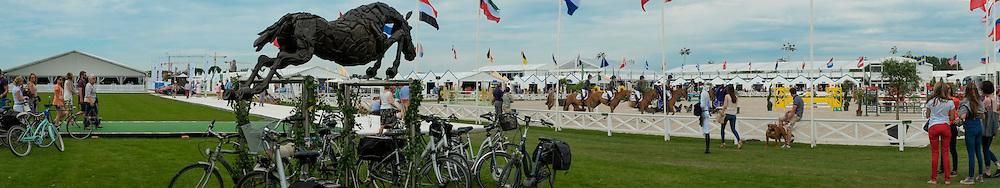 Panorama ambiance<br /> Knokke Hippique 2015<br /> © Hippo Foto - Dirk Caremans<br /> 27/06/15