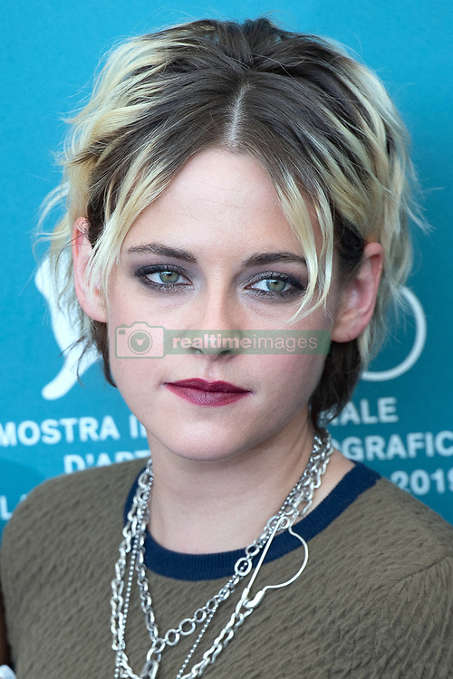 File photo dated August 30, 2019 of Kristen Stewart attending the Seberg Photocall as part of the 76th Venice Internatinal Film Festival (Mostra). Twilight actress Kristen Stewart will play Princess Diana in a new film about the late princess's break-up from Prince Charles, according to reports. Stewart will star in Spencer, set in the early 1990s, which will be scripted by Peaky Blinders creator Steven Knight, Hollywood news sites say. Photo by Aurore Marechal/ABACAPRESS.COM