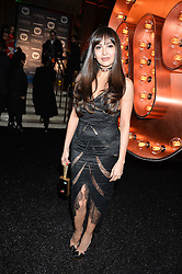 ZARA MARTIN at the Warner Music Group & Ciroc Vodka Brit Awards After Party held at The Freemason's Hall, 60 Great Queen St, London on 24th February 2016.