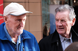 "Glasgow Film Festival, Sunday 3rd March 2019<br /> <br /> UK Premiere of ""Final Ascent""<br /> <br /> Pictured: Hamish MacInnes and Sir Michael Palin<br /> <br /> Alex Todd 