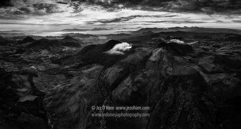 Mount Patuha & Kawah Putih, Ciwidey, Bandung, West Java, Indonesia.