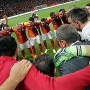 Galatasaray's players (M) Sneijder-JOSE RODRIGUEZ MARTINEZ during their Turkish Super League soccer match Galatasaray between Osmanlispor at the AliSamiYen Spor Kompleksi TT Arena at Seyrantepe in Istanbul Turkey on Monday, 24 August 2015. Photo by Aykut AKICI/TURKPIX