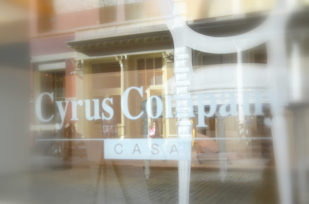 Photographs of Cyrus Co. at 57 Greene St., in SoHo New York.