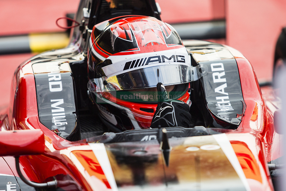 August 27, 2017 - Spa, Belgium - RUSSELL George from Great Britain of Art Grand Prix during the FIA GP3 championship at Circuit de Spa-Francorchamps on August 27, 2017 in Spa, Belgium. (Credit Image: © Xavier Bonilla/NurPhoto via ZUMA Press)