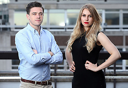 The Apprentice finalists, Alana Spencer and Courtney Wood, who will fight it out to win Lord Sugar's investment on Sunday, 18th December at 9pm on BBC One.
