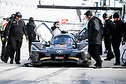 January 5-7, 2018. IMSA Weathertech Series ROAR before 24 test. 6 Acura Team Penske, Acura DPi, Dane Cameron, Juan Pablo Montoya, Simon Pagenaud