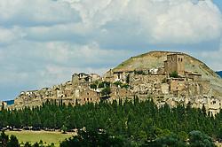 Old ruined town in the Pyrenees near JACA<br /> <br /> (c) Andrew Wilson   Edinburgh Elite media