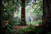 Minhee Cha at Botanical Garden, San Francisco