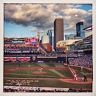 iPhone Instagram of Derek Jeter's final All Star Game at-bat at Target Field in Minneapolis, Minnesota on July 15, 2014