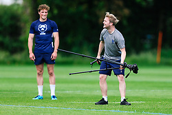 Jamie Eustace in action during week 1 of Bristol Bears pre-season training ahead of the 19/20 Gallagher Premiership season - Rogan/JMP - 03/07/2019 - RUGBY UNION - Clifton Rugby Club - Bristol, England.
