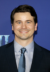 Jason Ritter at the World premiere of Disney's 'Frozen 2' held at the Dolby Theatre in Hollywood, USA on November 7, 2019.