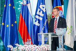 Aleksander Ceferin, president of NZS during NZS Draw for season 2015/16 on June 23, 2015 in Brdo pri Kranju, Slovenia. Photo by Vid Ponikvar / Sportida