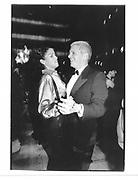 Veronica Webb and Larry Gagosian. NY. 1993 approx. © Copyright Photograph by Dafydd Jones 66 Stockwell Park Rd. London SW9 0DA Tel 020 7733 0108 www.dafjones.com