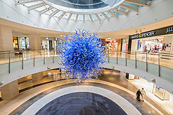 Interior of 360 shopping Mall in Kuwait City, Kuwait.