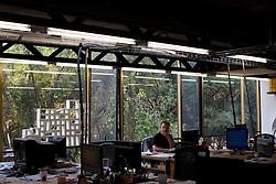 The office of Tatiana Bilbao in Mexico City.