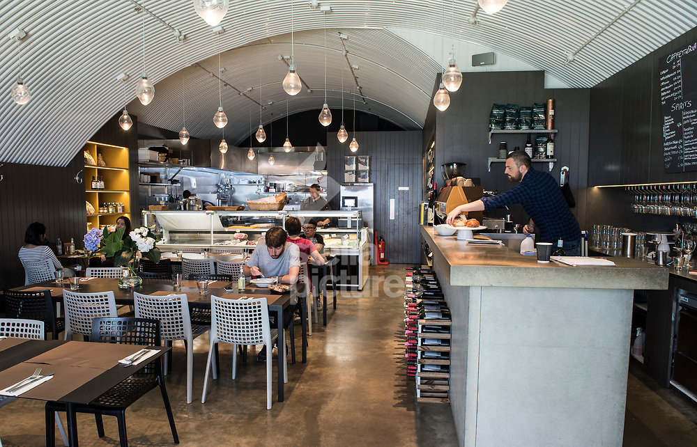 A general view of Il Cudega in Hackney, as part of the Evening Standard restaurant review.<br />  Picture by Daniel Hambury/Stella Pictures Ltd 07813022858<br /> 17/07/2017