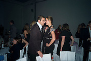 David Walliams; Karolina Kurkova, The Elle Style Awards 2009, The Big Sky Studios, Caledonian Road. London. February 9 2009.  *** Local Caption *** -DO NOT ARCHIVE -Copyright Photograph by Dafydd Jones. 248 Clapham Rd. London SW9 0PZ. Tel 0207 820 0771. www.dafjones.com<br /> David Walliams; Karolina Kurkova, The Elle Style Awards 2009, The Big Sky Studios, Caledonian Road. London. February 9 2009.