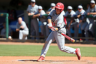 28 May 2016: SIU Logan Brown. The Cal Poly Pomona Broncos played the Southern Indiana Eagles in Game 2 of the 2016 NCAA Division II College World Series  at Coleman Field at the USA Baseball National Training Complex in Cary, North Carolina. Cal Poly Pomona won the game 2-1 in ten innings.