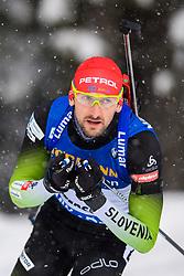 March 9, 2019 - –Stersund, Sweden - 190309 Jakov Fak of Slovenia competes in the Men's 10 KM sprint during the IBU World Championships Biathlon on March 9, 2019 in Östersund..Photo: Petter Arvidson / BILDBYRÃ…N / kod PA / 92252 (Credit Image: © Petter Arvidson/Bildbyran via ZUMA Press)