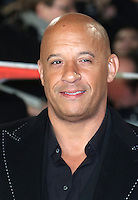 Vin Diesel, xXx: Return of Xander Cage - European film premiere, The O2, London UK, 10 January 2017, Photo by Richard Goldschmidt