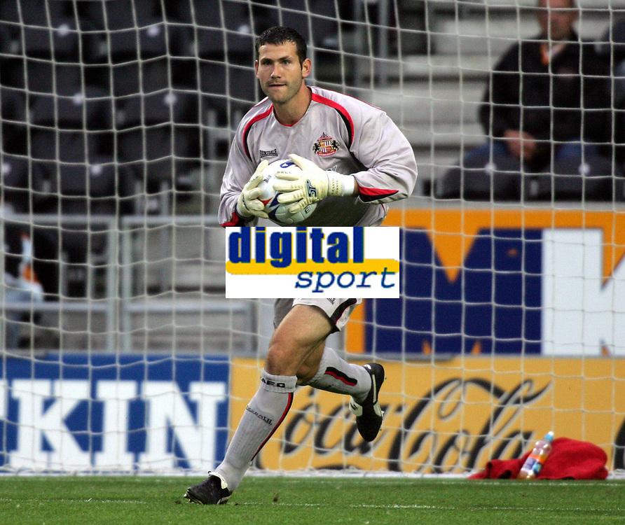 Fotball<br /> England 2005/2006<br /> Foto: imago/Digitalsport<br /> NORWAY ONLY<br /> <br /> 27.07.2005<br /> <br /> Torwart Kelvin Davis (Sunderland)
