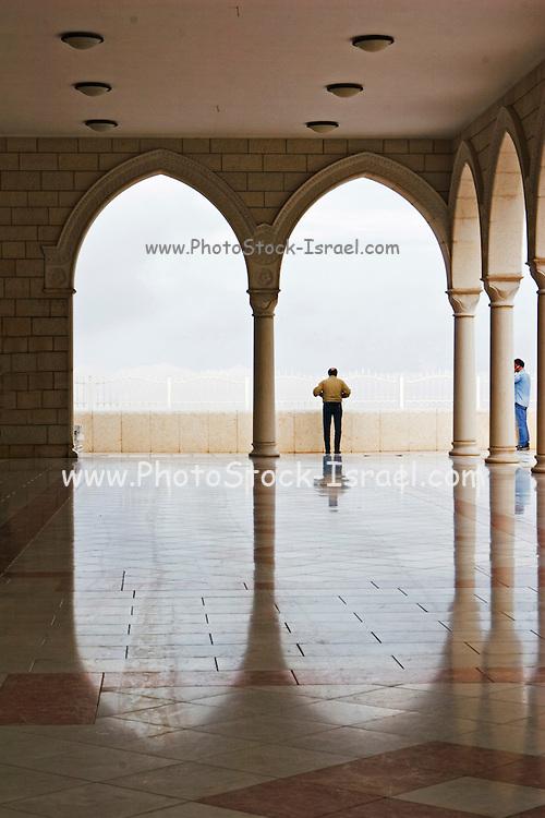 Israel, Upper Galilee Horns of Hittin nebi shu'eib - jethro's tomb the main pilgrimage site for the Druze religion