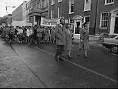 1986 - Irish Nurses Organisation Protest,Dublin