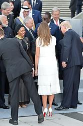 July 7, 2017 - Hamburg, Germany - Melania Trump, Donald Trump.G20 SUMMIT: Reception and concert at Elbphilharmonie, Hamburg, Germany - 07 Jul 2017.Credit: Timm/face to face (Credit Image: © face to face via ZUMA Press)