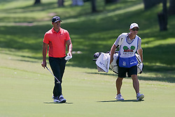 May 25, 2018 - Forth Worth, TX, U.S. - FORT WORTH, TX - MAY 25:  Brooks Koepka of the United States walks up the 5th fairway during the second round of the Fort Worth Invitational on May 25, 2018 at Colonial Country Club in Fort Worth, TX. (Photo by Andrew Dieb/Icon Sportswire) (Credit Image: © Andrew Dieb/Icon SMI via ZUMA Press)