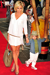 © licensed to London News Pictures. LONDON UK  05/06/11.Jenny Frost attends the premiere of Kung Fu Panda 2 at Westfield shopping center London. Please see special instructions for usage rates. Photo credit should read ALAN ROXBOROUGH/LNP