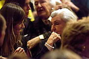 Rosario  Morente before her granddaughter concert, Estrella Morente  at the Teatro Real  in Madrid, 2013