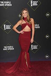Hannah Brown at the 2019 E! People's Choice Awards held at the Barker Hangar in Santa Monica, USA on November 10, 2019.