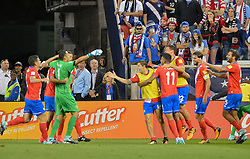 September 1, 2017 - Harrison, NJ, USA - Harrison, N.J. - Friday September 01, 2017:   Costa Rica during a 2017 FIFA World Cup Qualifying (WCQ) round match between the men's national teams of the United States (USA) and Costa Rica (CRC) at Red Bull Arena. (Credit Image: © John Todd/ISIPhotos via ZUMA Wire)