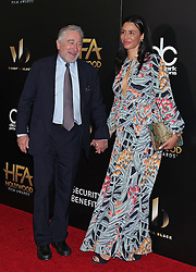 Robert De Niro, Drena De Niro, The 20th Annual Hollywood Film Awards at the Beverly Hilton Hotel (Beverly Hills, CA.)