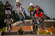 #187 (GARCIA Jared) USA [DK, TB316] at Round 7 of the 2019 UCI BMX Supercross World Cup in Rock Hill, USA