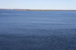 Amistad Reservoir, near Del Rio, Texas.