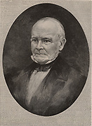 Thomas Nuttall (1786-1859) English botanist, plant collector and ornithologist, born near Settle Yorkshire.  He worked in America from 1810-1842. Engraving 1896.