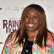 Chizzy Akudolu attends the Raindance Opening Gala 2018 held at Vue West End, Leicester Square on September 26, 2018 in London, England.