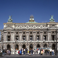 Plais Garnier or Opera House on the Right Bank in Paris