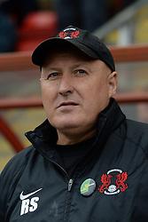 Leyton Orient Manager, Russell Slade - Photo mandatory by-line: Mitchell Gunn/JMP - Tel: Mobile: 07966 386802 12/10/2013 - SPORT - FOOTBALL - Brisbane Road - Leyton - Leyton Orient V MK Dons - League One